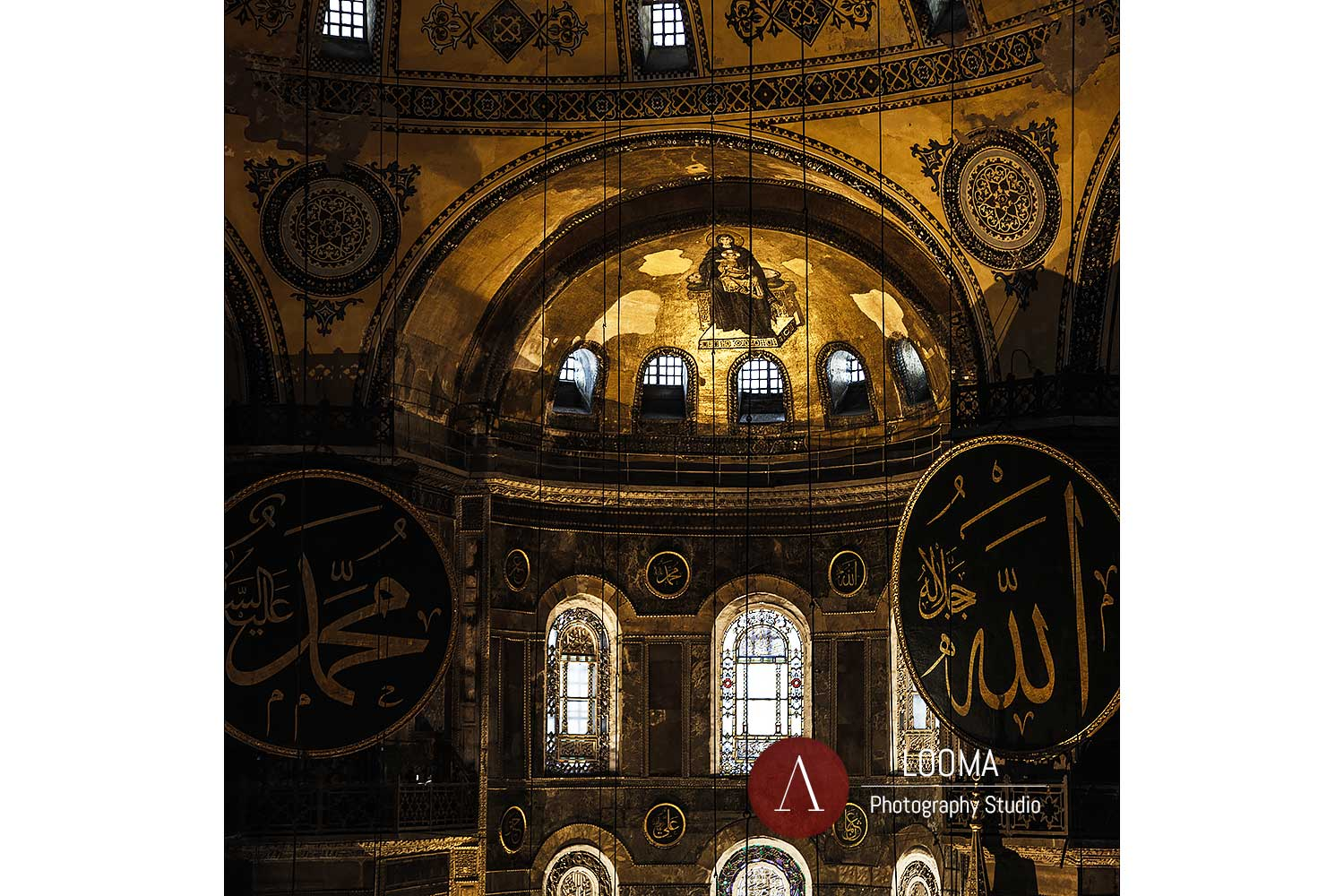 Architecture and heritage Photography - Hagia Sophia - Istanbul