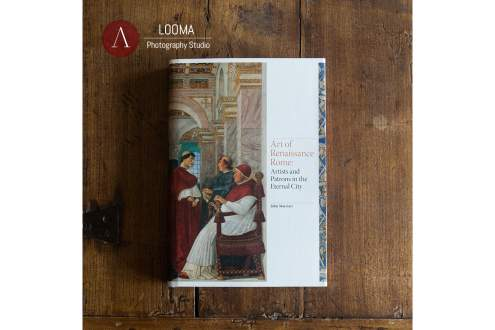 Book cover: Art of Renaissance Rome