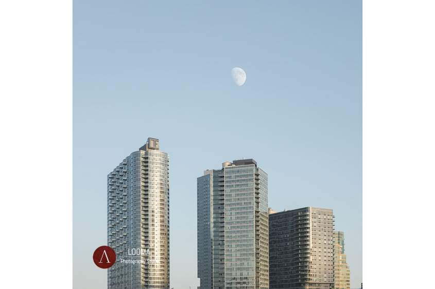 The Moon over Long Island City