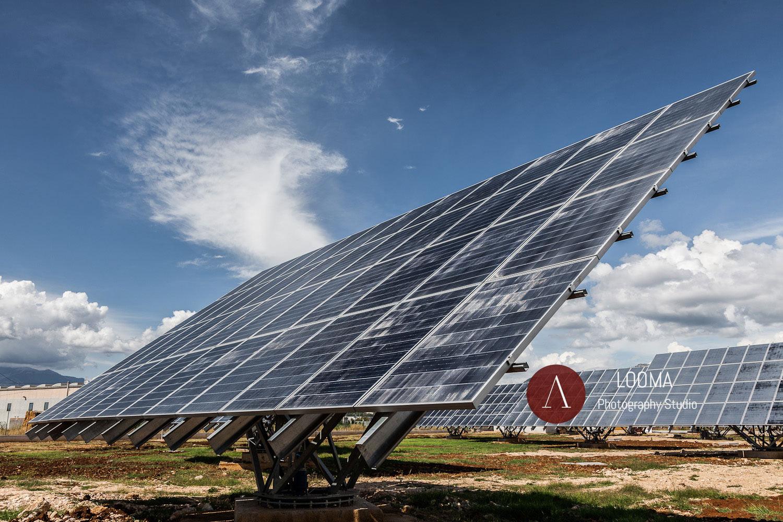 Fotografia industriale / corporate - Pannelli fotovoltaici