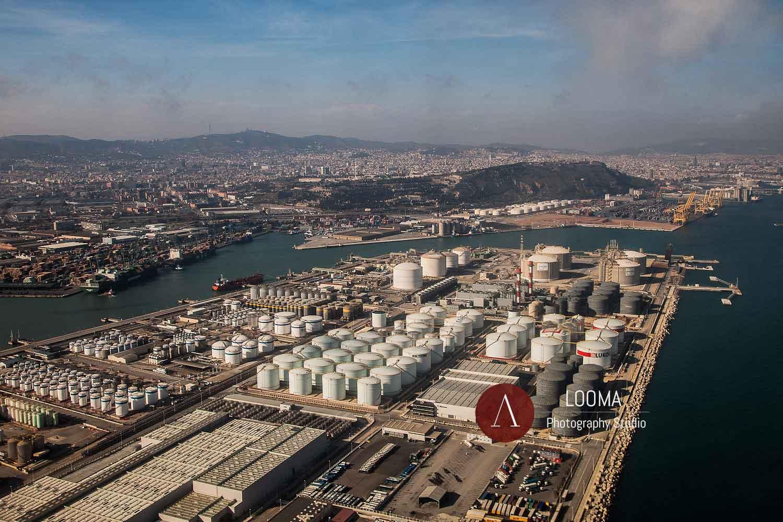 Fotografia Aerea per gli impianti industriali