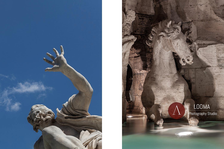 Fotografia di Opere d'Arte -Scultura aRoma ed in Italia