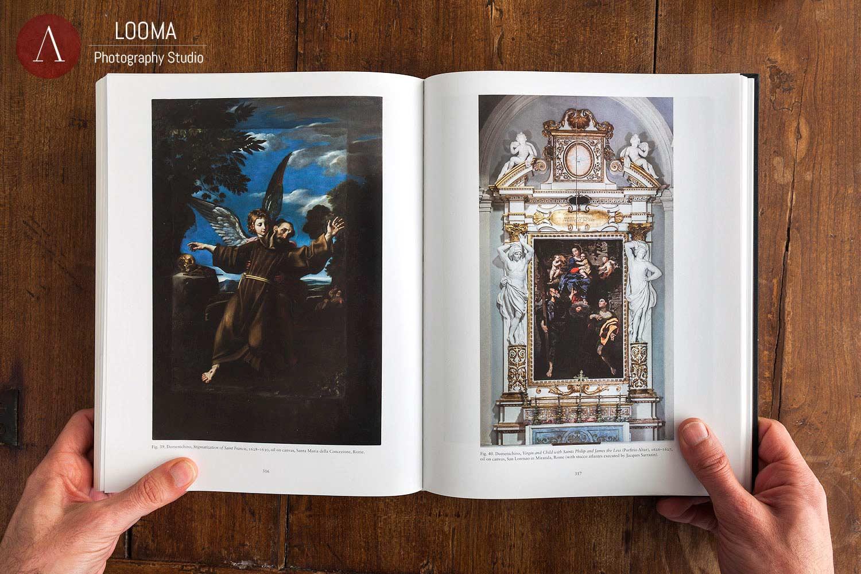 Fotografia di opere d'arte per l'editoria