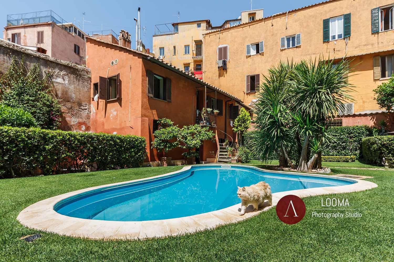Servizi di Fotografia di interni ed esterni per i Bed and Breakfast a Roma - Looma