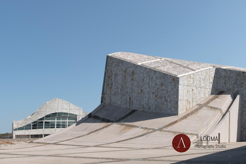 Foto di architettura – Città della Cultura, Peter Eisenman